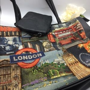 Handbags - London purse with attached change purse